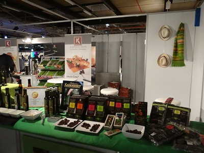 Stand Fresh Chain op beurs Gastronomie 2013